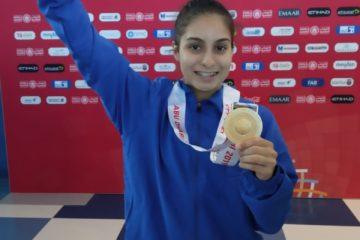 Dahiana Torres brinda a nuestro país su cuarta medalla de oro en Abu Dhabi