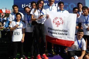 Atletas de OEP presentes en la corrida Tigo Run