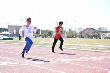 Atletas especiales de la capital se dan cita en Jornada de Atletismo de la SND