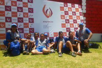 Equipo de Atletismo Adaptado en acción en los Juegos Sudamericanos Escolares – Arequipa 2018